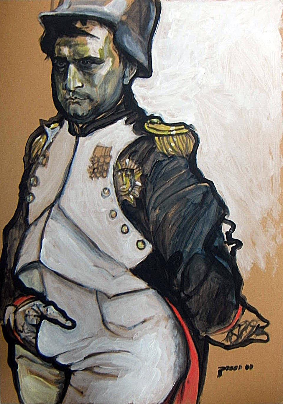 Lustige Porträts von Napoleon, Merkel, Beuys, Picasso…