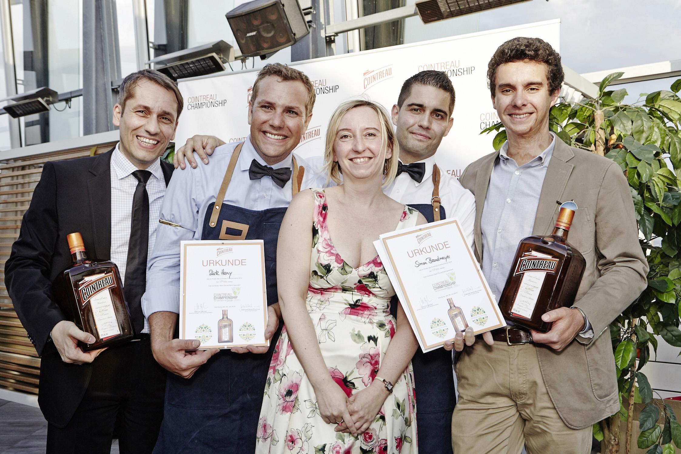 Cointreau Championship 2014: Schweizer Team gewinnt den erstmals international ausgetragenen Wettbewerb