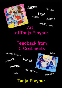 "Buchpräsentation ""Art of Tanja Playner – Feedback from 5 Continents"""