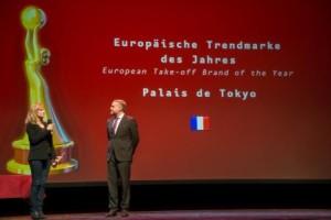 """Das Palais de Tokyo (Frankreich) ist """"Europäische Trendmarke des Jahres 2014"""""""