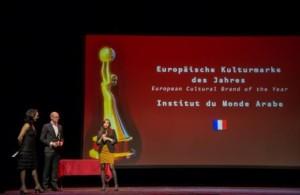 """Das Institut du monde arabe (Frankreich) ist """"Europäische Kulturmarke des Jahres 2014"""""""