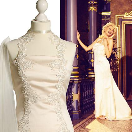 LOW-LOW-Pressebild-Brautkleid Brautmode von TaliBoelt® Couture für den wichtigsten Tag