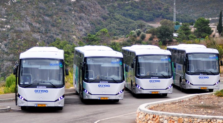IVU-Systeme steuern künftig 300 Busse am See Genezareth