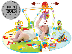Toy of the Year (TOTY) Awards: Gymotion Activity Playland von Yookidoo im Finale