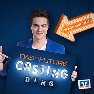 Volksbanken und Raiffeisenbanken suchen Talente: JoussenKarliczek mit VR Future-Card zurück auf der Kinoleinwand