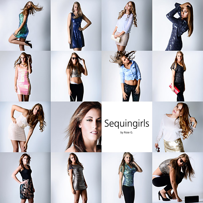 Die neue Glamourkollektion 2015 von Sequingirls by Rose G.