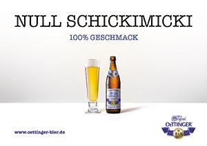 Neue Markenidentität soll Nähe zum Verbraucher schaffen: JoussenKarliczek kommuniziert für Oettinger Bier