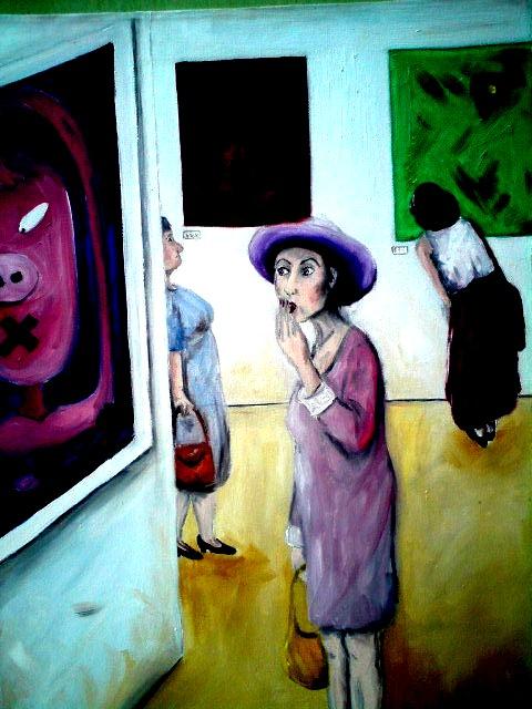 Ölbilder Menschen – Angelika Welter – Kunstausstellung