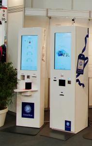 Intelligente Self Service-Terminals in großen Luxuskaufhäusern