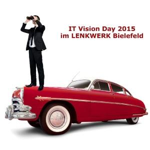 MannAufOldtimerEinladungPresse2-300x300 Wie die Idee zum IT Vision Day 2015 entstand