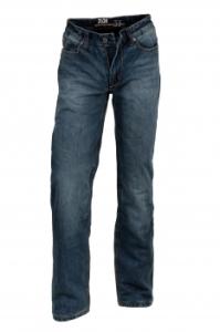 Weltneuheit! Kevlar®  Jeans mit doppeltem Schutz