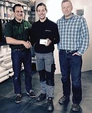 Walraven gratuliert Sieger des BIS UltraProtect® 1000-Gewinnspiels der ISH 2015