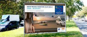 Kaiserberg Kommunikation: Erfolgreiche Werbekampagne für die CARAVAN SALON DÜSSELDORF 2015