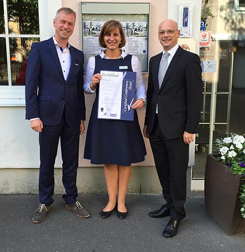 Novotel Würzburg erneut als Certified Conference Hotel ausgezeichnet