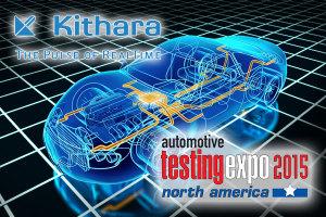 Kithara auf der Automotive Testing Expo in den USA