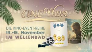 CINEWAVE – Kino mal anders in der THERME ERDING