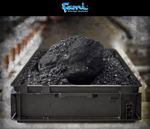 Die schwarzen ESD-Behälter von FAMI Storage Systems: Ihre Ladung sicher vor Aufladung