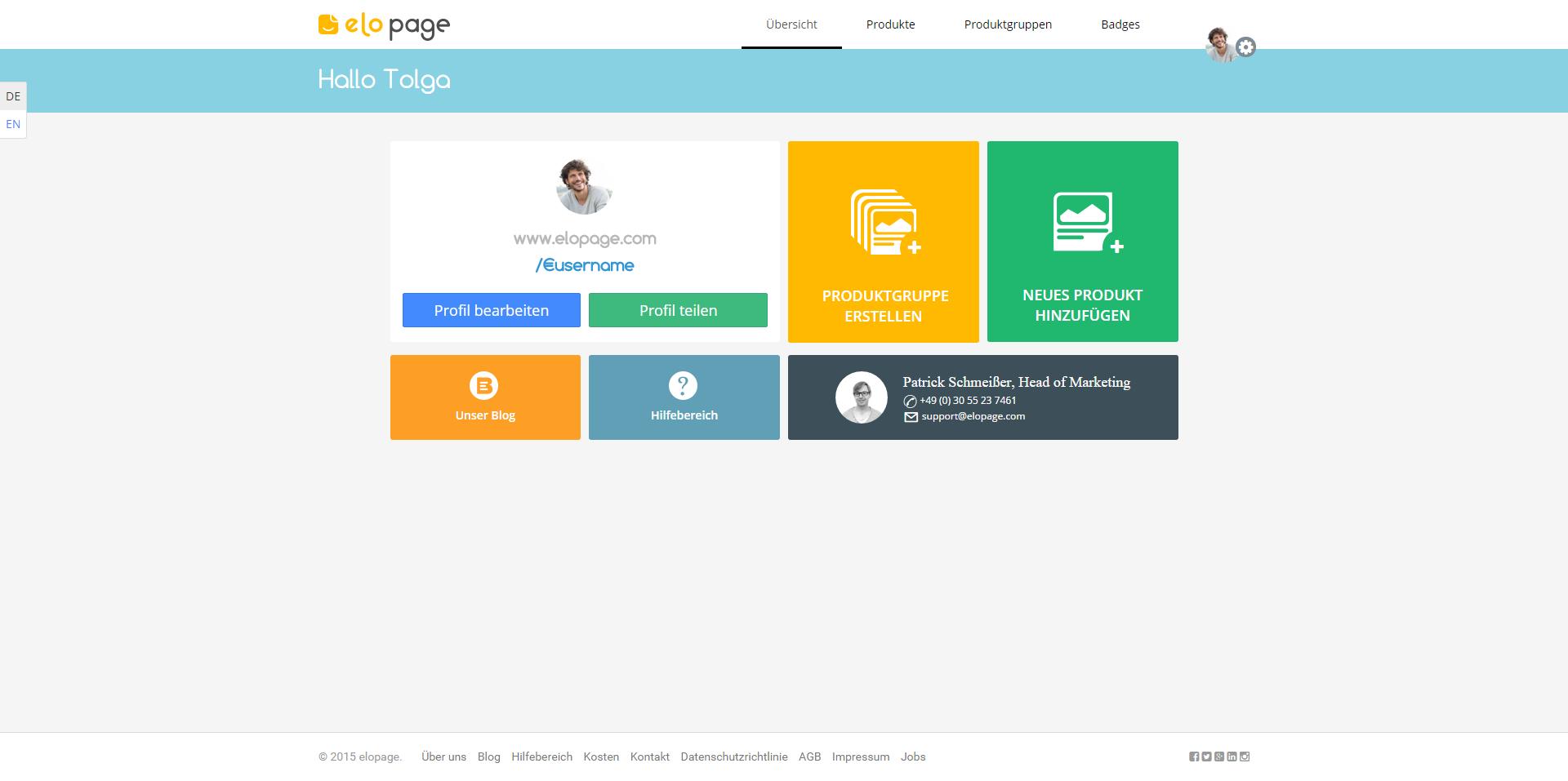 Launch: Mit elopage verkauft ab jetzt jeder digitale Produkte online ...
