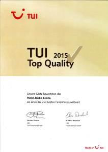 Quality2-212x300 Hotel Jardín Tecina zweifach vom deutschen Reiseveranstalter TUI ausgezeichnet