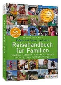 """Preisverleihung: """"Reisehandbuch für Familien"""" erhält den ITB BuchAward 2016"""