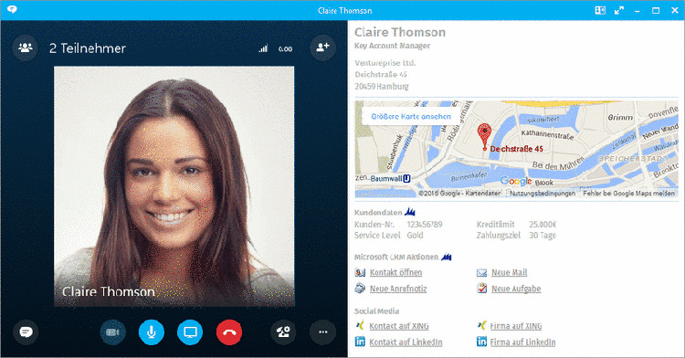 how to connect callnote to skype