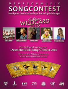 Deutschmusik Song Contest 2016: Die Wildcard-Gewinner