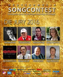Die Deutschmusik-Songcontest-Jury tritt in Aktion