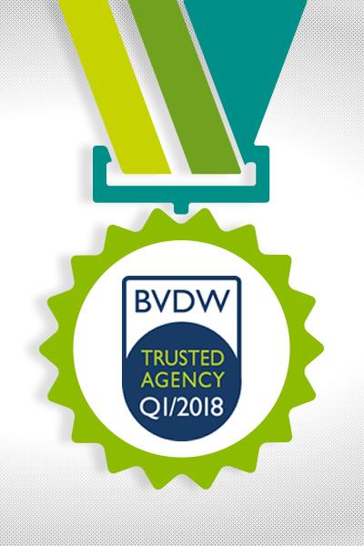 Full-Service-Digitalagentur communicode erhält Qualitätssiegel des BVDW