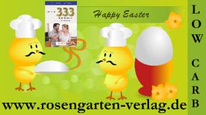 OSTERN: Low-Carb Bücher aus dem Rosengarten-Verlag