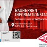 12. November 2017 | Einladung von Roth-Massivhaus | Bauherren-Informationstag in Berlin-Charlottenburg