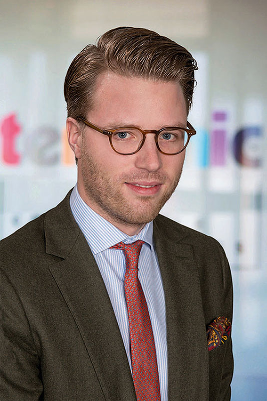 Dritte Generation übernimmt Führungsaufgaben: Huschke Rolla du Rosey seit 1. Januar Managing Director bei terminic UK Ltd.