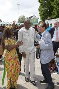 Hon.-Rashid-Pelpuo-und-Sylvaina-Gerlich-200x300 IMIC e.V. mit dem Africa Day 2016