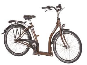 """Tiefer Einstieg und entspanntes Sitzen: Fahrräder von PFIFF und PFAU Tec für den """"Otto Normalsenior"""""""