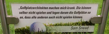 """""""In geheimer Mission"""" bei der Golf Woche Ruhr. IOS-Technik nimmt erstmalig an der Golf-Serie teil."""