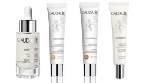 """Caudalie sagt """"Bye Bye Dark Spots"""". Die Vinoperfect Linie von Caudalie gegen Pigmentflecken und für mehr Ausstrahlung"""