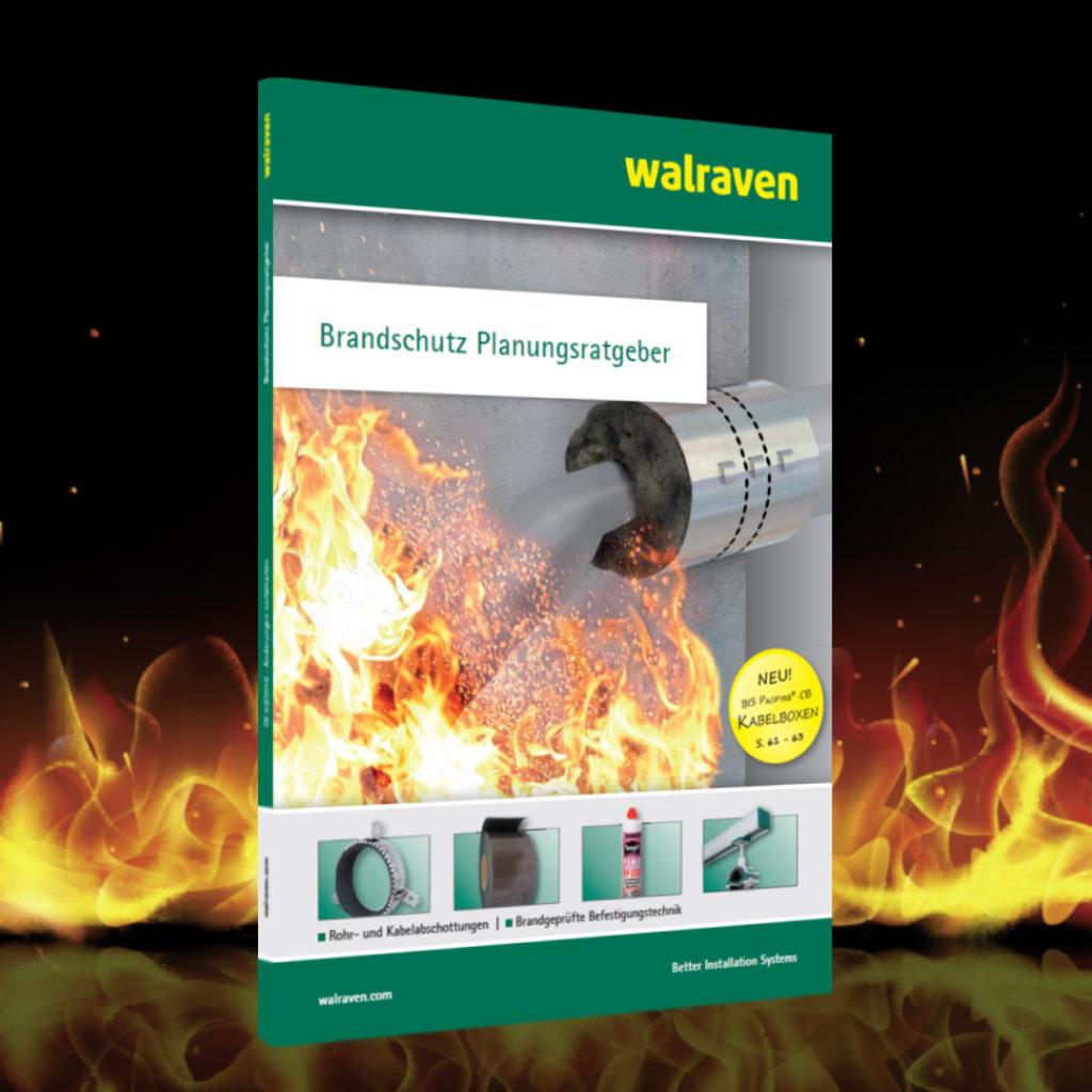Neu überarbeitete Auflage des Brandschutz Planungsratgebers von Walraven