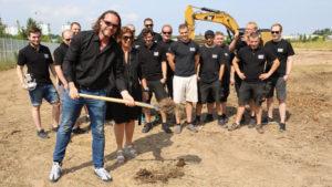 RENT EVENT TEC gibt Startschuss für Neubau in Mannheim