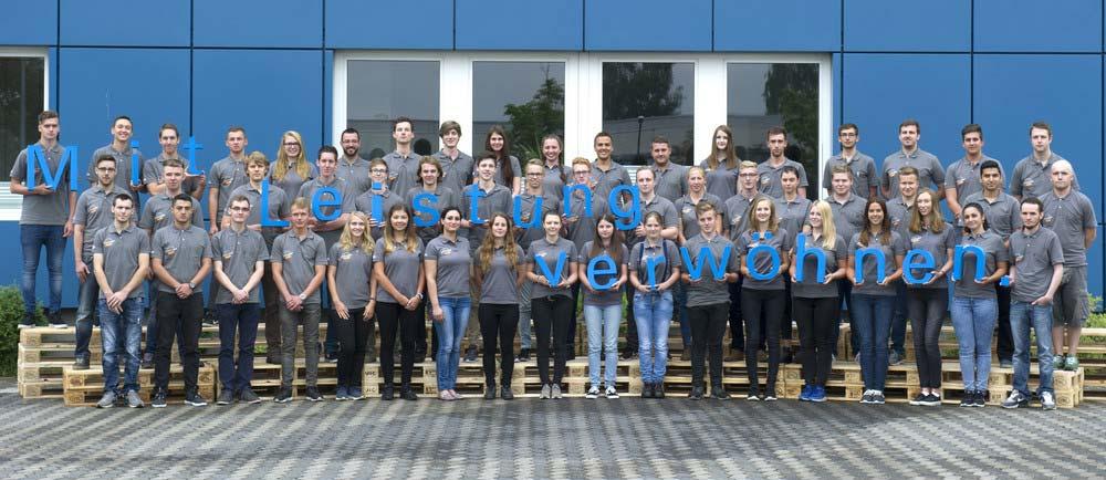Die ZUFALL logistics group begrüßte ihre 51 neuen Auszubildenden in der Göttinger Firmenzentrale.