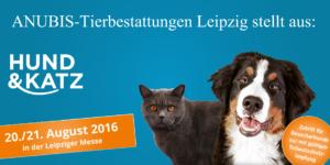 """ANUBIS-Tierbestattungen Leipzig auf der Messe """"Hund & Katz"""""""