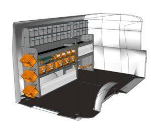 Eine mobile Werkstatt in einem VW T6 für die Elektrobranche