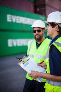 Bei Contargo wird die erste Fachkraft für Hafenlogistik in Hessen ausgebildet