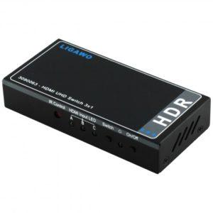 Sattere & intensivere Farben mit den neuen Ligawo HDR HDMI Switches