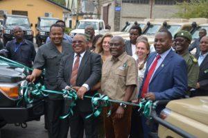 Neue Fahrzeuge gegen die Wilderei im Selous und in der Serengeti