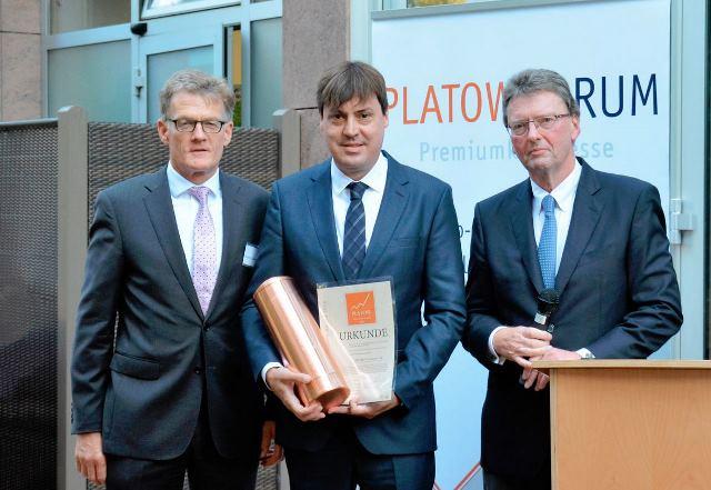 PROJECT Investment mit Platow Immobilien Award ausgezeichnet