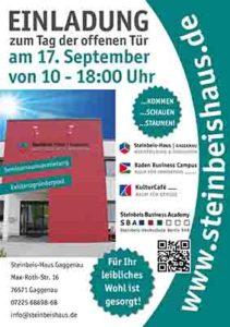 Tag der offenen Tür am Steinbeis-Haus Gaggenau