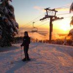 Austauschschüler besuchen Wintersport-Academy in Kanada