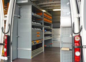 StoreVan mobile Werkstatt für einen Servicetechniker