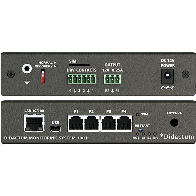 Serverraum Überwachung mit Didactum Monitoring System 100 III