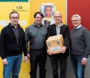 """hl-studios aus Erlangen unterstützt Entwicklungshilfeprojekt """"EinDollarBrille"""""""