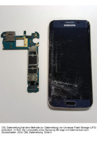 CBL Datenrettung meldet Durchbruch bei UFS-Chips: Erstmals Datenrettung für Samsung Galaxy S6 und S6 edge